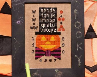 Ship's Manor Pumpkin Smarts Pattern