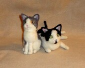 Custom Order for Crysania - 1 black & white cat and 2 orange
