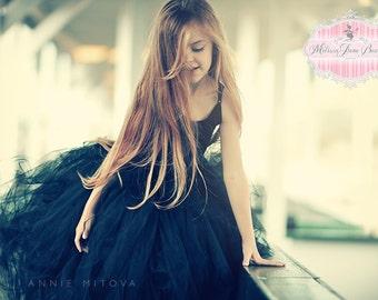 Black Swan Tutu Skirt With Option of Matching Top