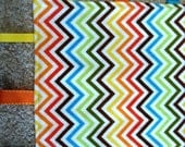 Rainbow ChevronTaggie Blanket