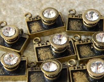 Brass Camera Charms