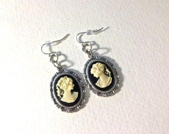Classic Cameo earrings