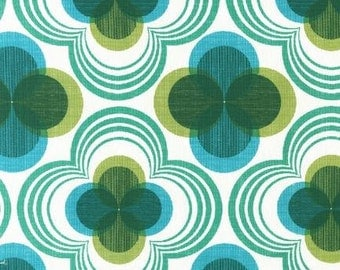 SALE-One Yard- Auntie's Attic- CANVAS- Emerald