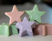 Handmade Star Soap (message for available scents)