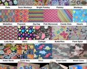 Cloth Eye Patches - Reversible - 51 Patterns to choose from