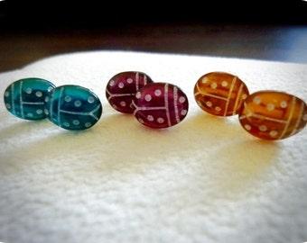 40% OFF SALE! -Lady Bug Stud Earrings