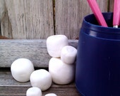 Faux Marshmallows-Set of 9 , Decor, Decorating, Model Home Decor, Window Dressing