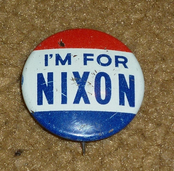 Rare Nixon Pins