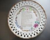 Awesome Vintage Souvenir Plate - Morro Bay, California