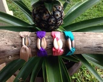 Hawaii shell hair band bracelet