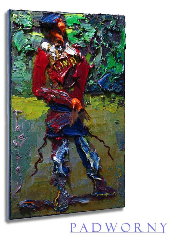 SOLD - Oil Paint on Gallery Wrapped Stretched Canvas 18 by 12 by 3/4 in./ Military Signed Realist Oil Soldier Painting Marine Army Navy War