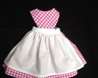 Reversible Apron for 12 -14 inch Dolls