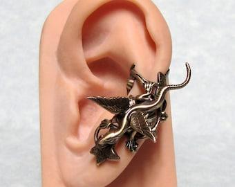 Fairy Tale Dragon Ivy Ear Cuff