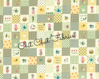 Holly Hobbie, Novelty fabric, Doll Fabric, Lecien Japan Fabric, Character Fabric, One Yard