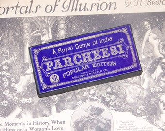 Vintage Game of Parcheesi Popular Edition