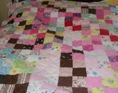 full/twin size quilt for girl