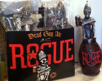 Rouge dead guy 6 pack candles