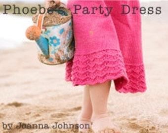 Pattern PDF- Phoebe's Party Dress