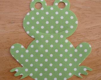 Fabric Frog Etsy