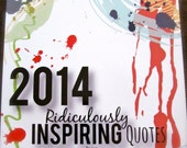 SALE! - A Calendar of Ridiculously Inspiring Quotes from Ridiculously Nerdy Fiction