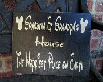 Grandma and Grandpa's-the happiest place on earth