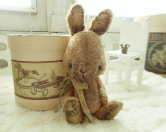 """PDF file for Sewing Pattern for 5 - 5,5 inch Bunny """"Theodore"""""""