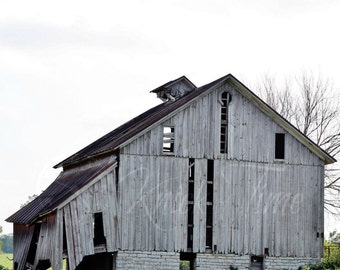 ABANDONED BARN PHOTOGRAPH - Digital Download Fine Art Photo for Home Decor, Transfer, Digital Collage and More