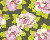 LOTTIE DA Go Go Rose in Charcoal  PWHB040 - Heather Bailey - Free Spirit Fabric - 1 Yard