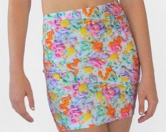 Pastel Frosting Mini Skirt