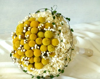 Wedding Bouquet - MODERN GIRL, Bridal Bouquet, Preserved Flowers Bride's Bouquet, Wedding Flowers, Destination weddings,Wedding accessories