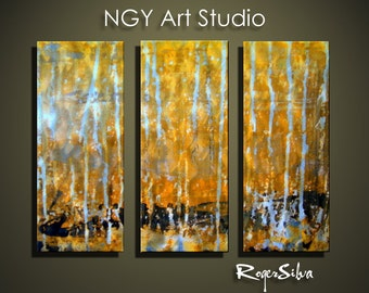 "NGY 23.5"" x 32"" Modern Contemporary Abstract Metal Wall Sculpture Art"