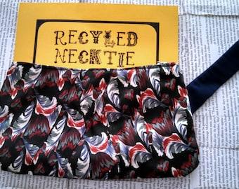 Recycled Necktie Clutch