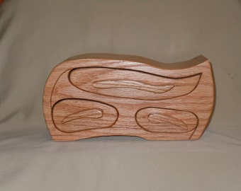 Red Oak Jewelry/Keepsake Bandsaw box