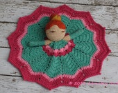 Princess Lovey, Princess Doll, Security Blanket, Blankie, MADE TO ORDER