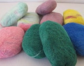 Felted Goat's Milk Soap
