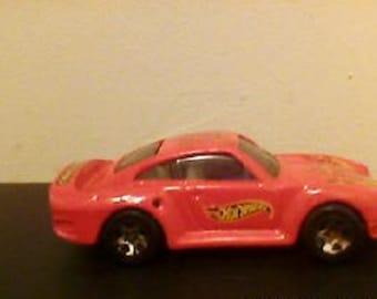 Vintage Hot Wheels 1987 Twin Turbo Porsche