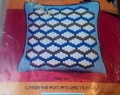 Bargello Needlepoint Pillow by Sew SImple