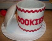 Felt Cookie Jar