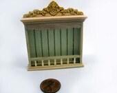 Miniature dollhouse furniture unfinished shelf rack -  code  VMJ 3005