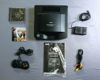NEO GEO CD Gaming System with Fatal Fury 3 Very Rare