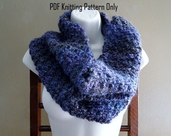 Volumoso Cowl - PDF Knitting Pattern