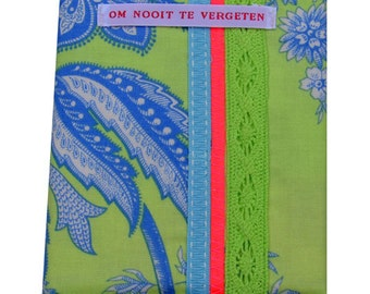Notebook Fresh Lime deco