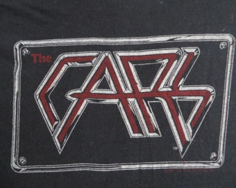 THE CARS 1982 tour T SHIRT