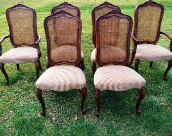 Set of 2 French Chic Dining Room Chairs