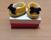 SALE - Yellow - Middie blythe shoes Basic
