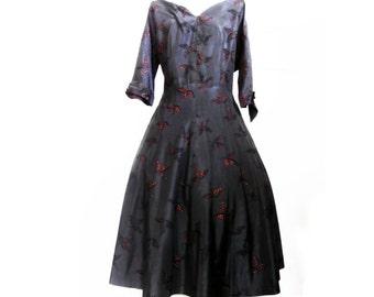 Vintage 40s Dress size  Large