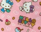 Half yard  Hello kitty face printed super cute fabric  New 2013