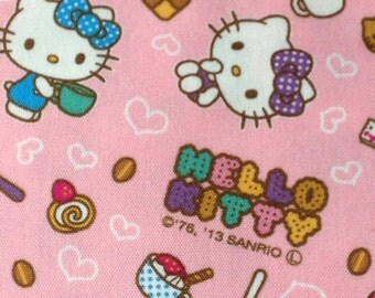 One yard  Hello kitty face printed super cute fabric