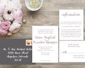 Whimsical Wedding Invitations. Calligraphy Font. Modern Wedding. Wedding Invitation. Wedding Favors. Wedding Menu. Wedding Programs.