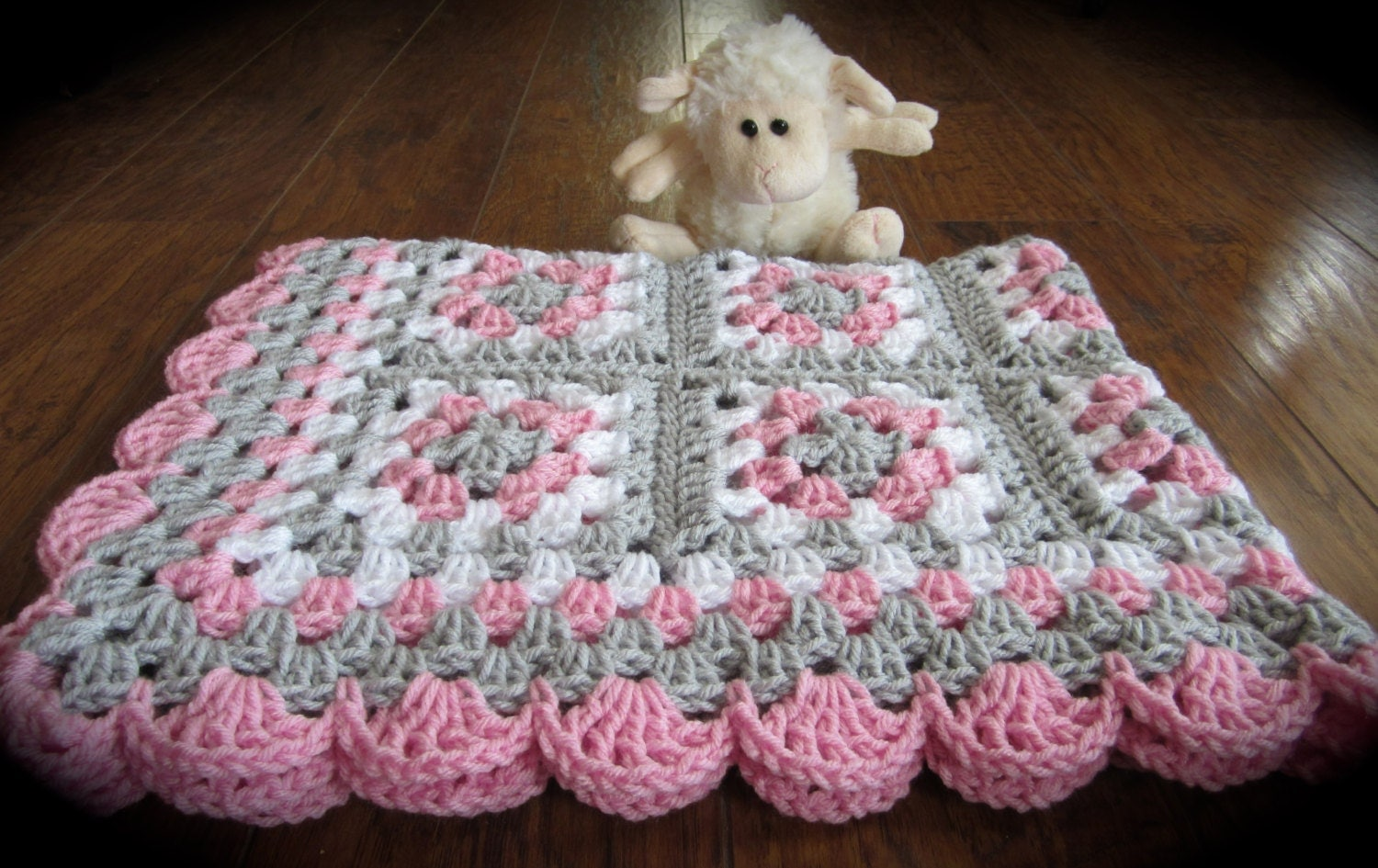 Crochet Pink Baby Blanket Pattern ~ manet for .